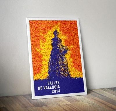 Cartel Fallas de valencia 2014