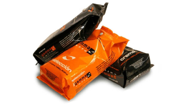 gamma caffe bolsas de producto