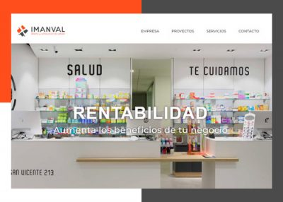 Imanval página web