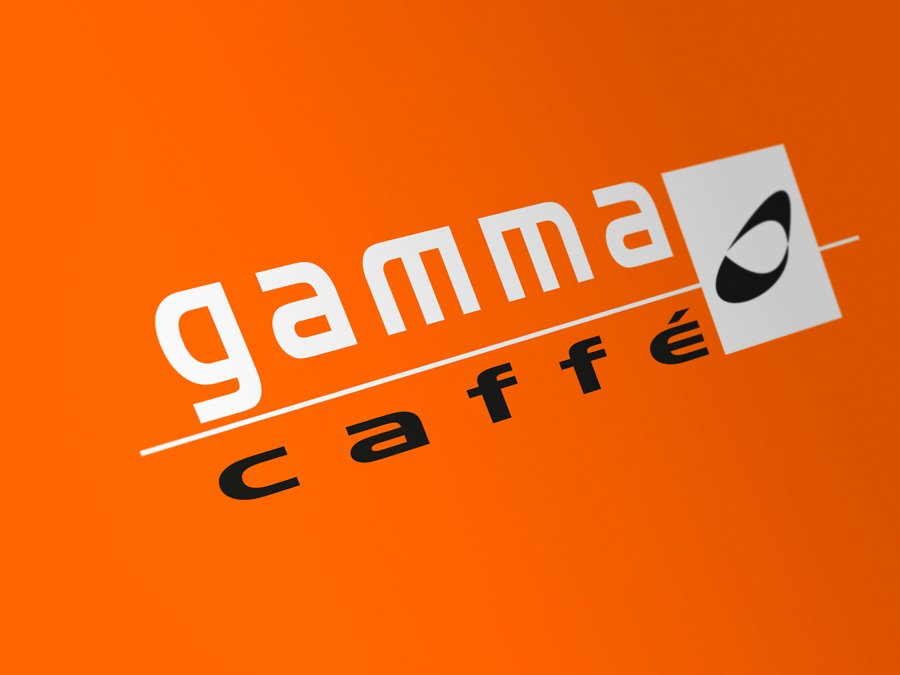 logotipo gamma cafe gobarestudio