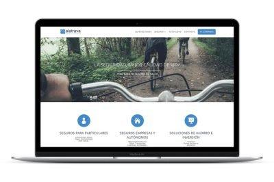 Página web Agencia Seguros Calatrava