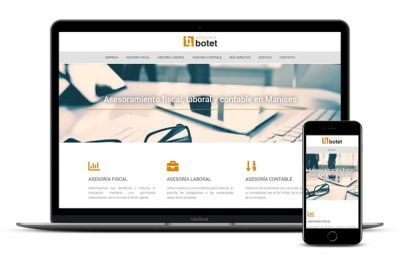 Página web Asesoría Botet Manises