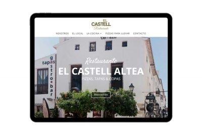 Página web El Castell Altea
