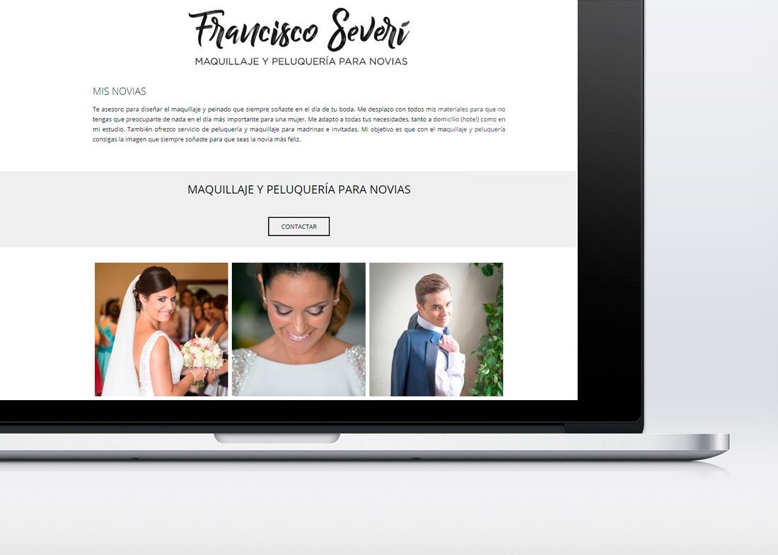 Página web de Francisco Severí bodas