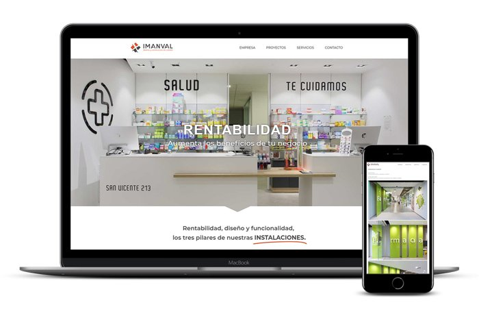 Página Web Imanval