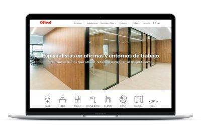 Página web Ofival