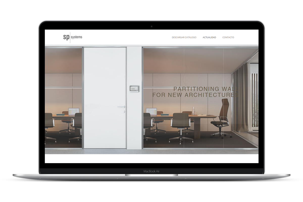 Página web SP Systems