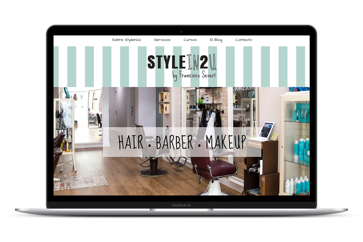 Página web Stylein2U