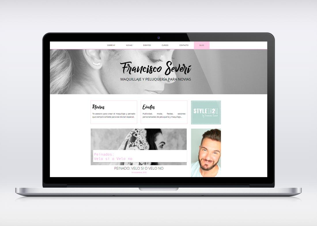 Página web de Francisco Severí
